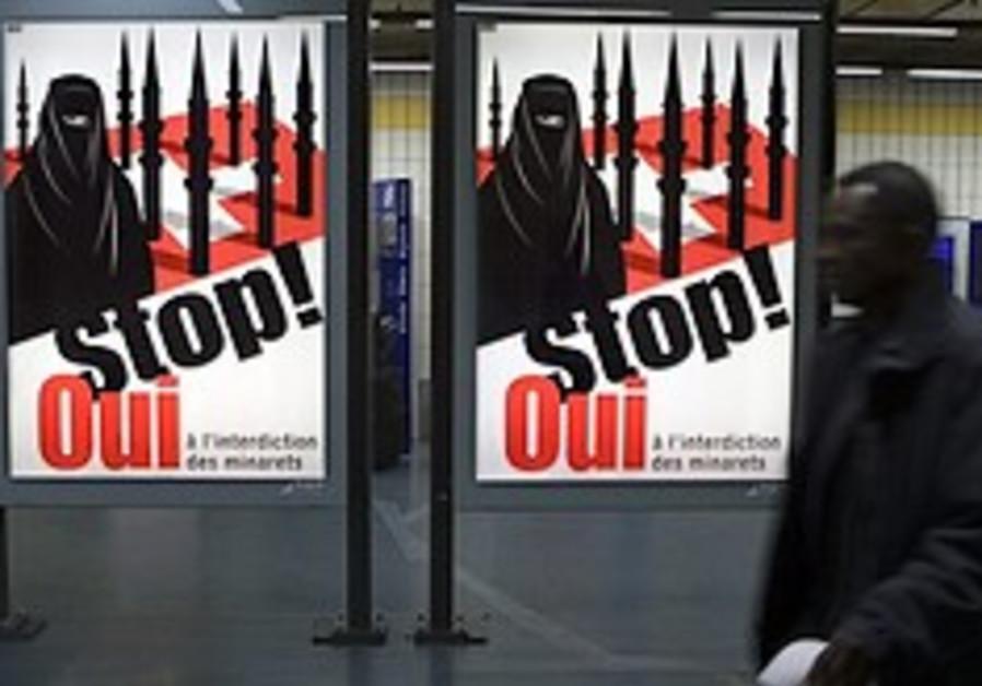 Swiss anti-minaret campaign