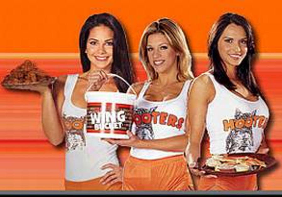 Hooters gambles on Tel Aviv perch