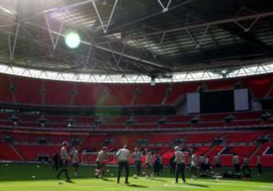 England trains at Wembley as McClaren looks for a spark