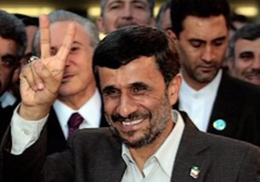 Ahmadinejad peace