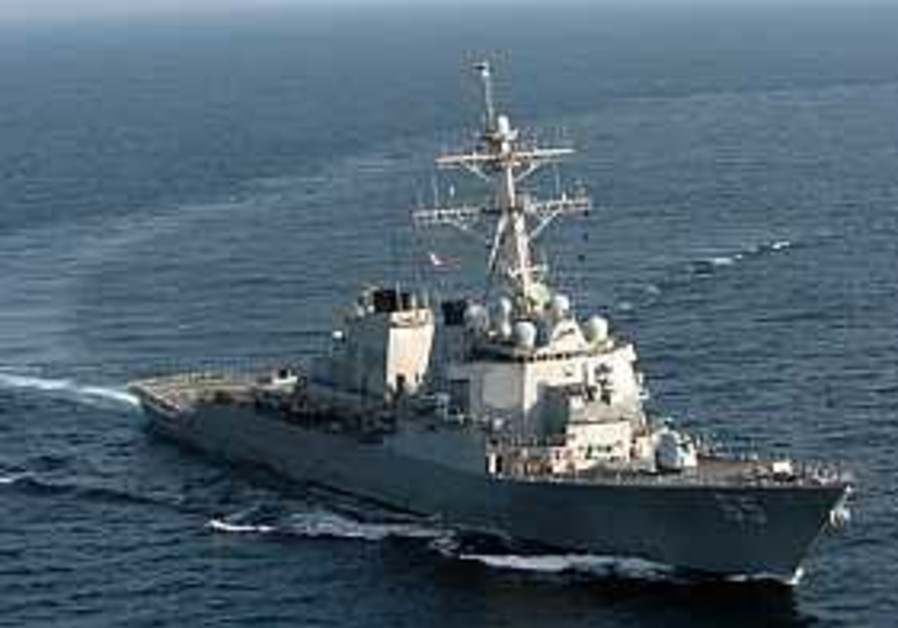 US Navy ship confronted by Chinese vessels