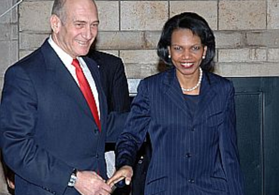 Rice will ask Israel to move 'to the next level' with PA