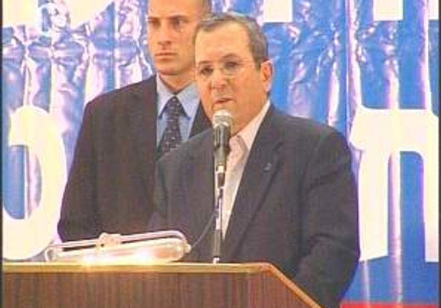 Barak: Second Lebanon War a failure