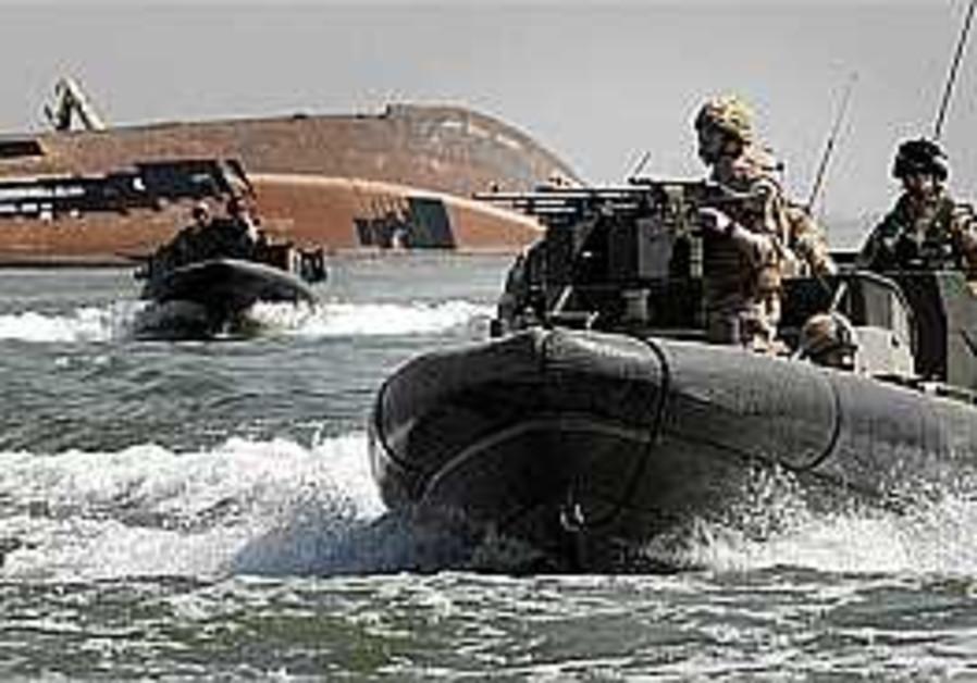 Iran questioning British marine crew