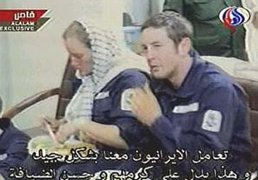 Iran releases video of released British navy crew