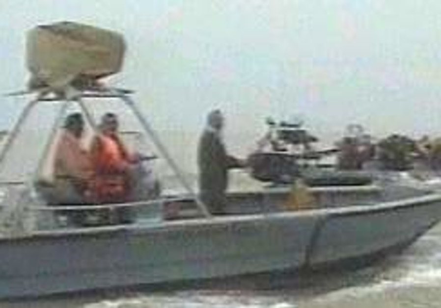 Iran releases second sailor letter
