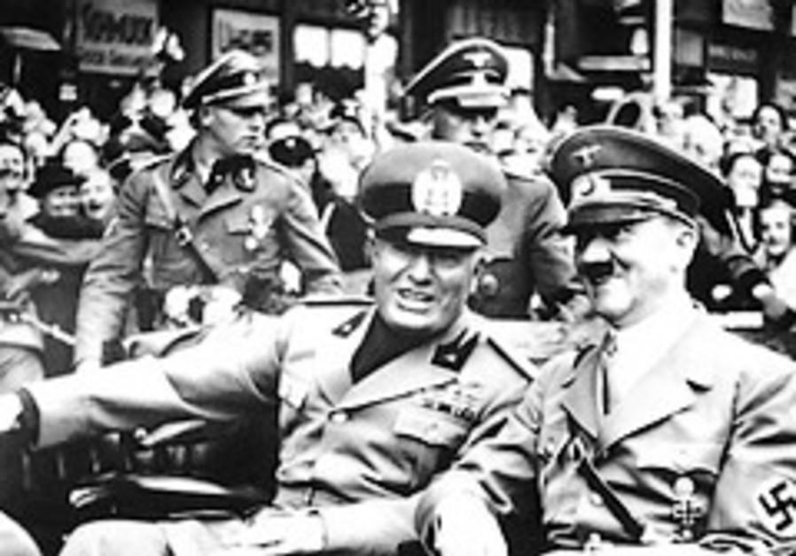 Mussolini Hitler 288x48 AP
