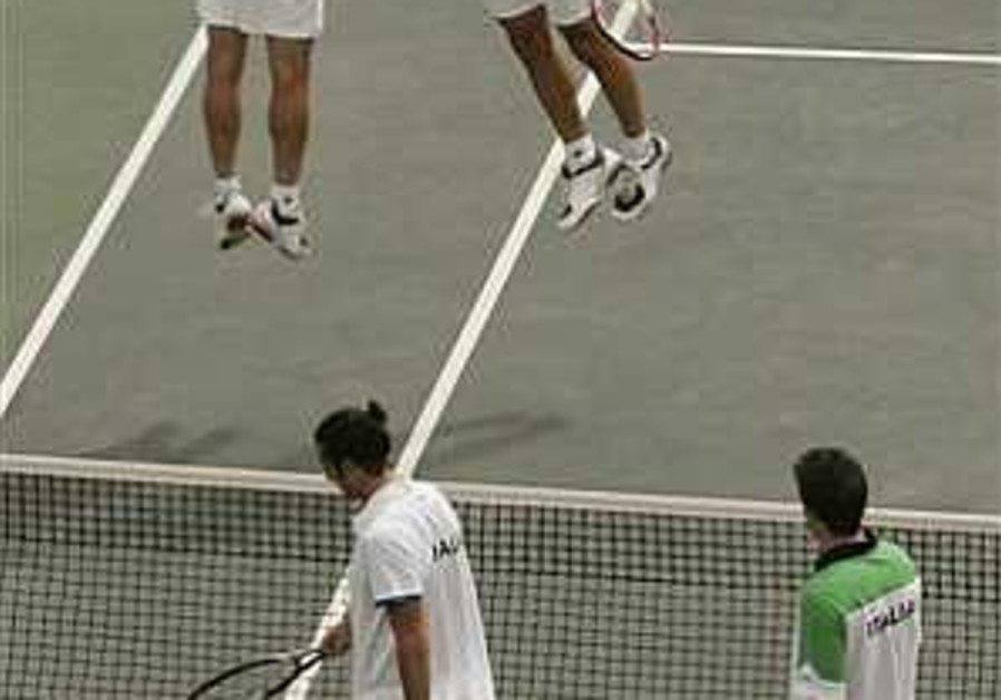 Tennis: Israel optimistic ahead of Chile tie