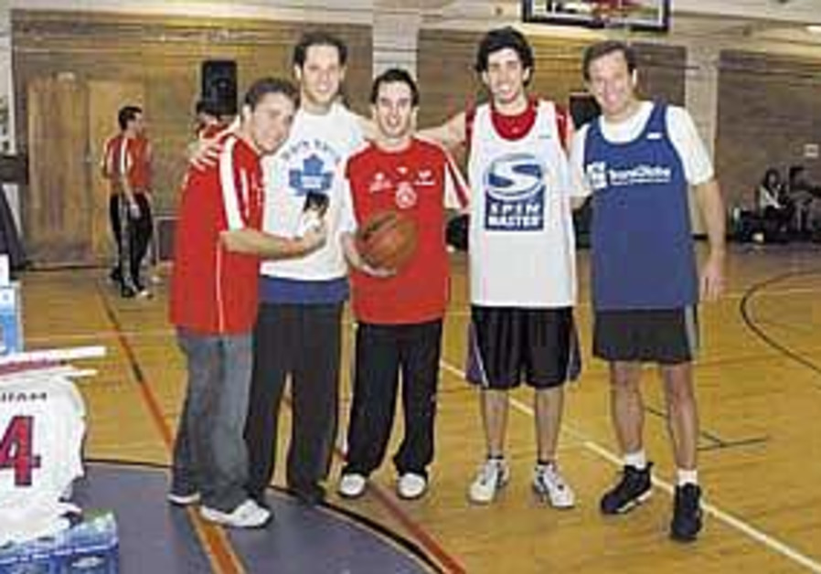 Brithright graduates organize Hoops4Israel, raise 100K