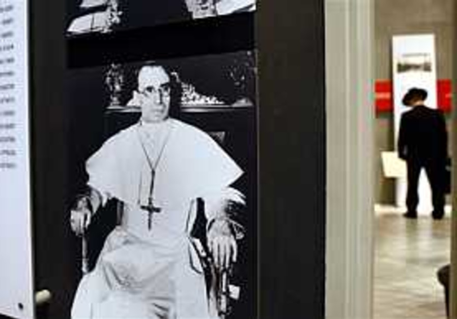 Vatican historians discuss Pius XII at Yad Vashem