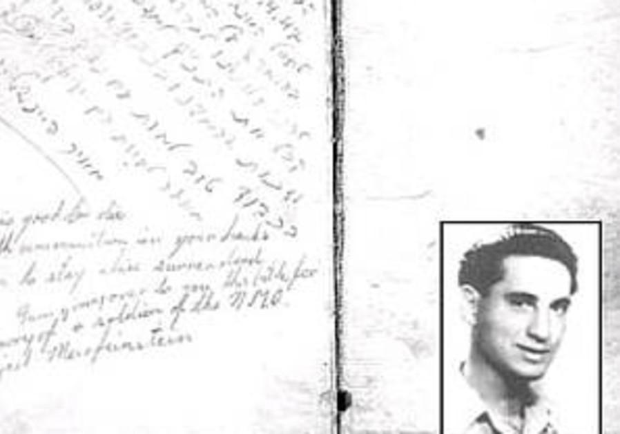 'The good jailer' returns Irgun hero's Bible 60 years later
