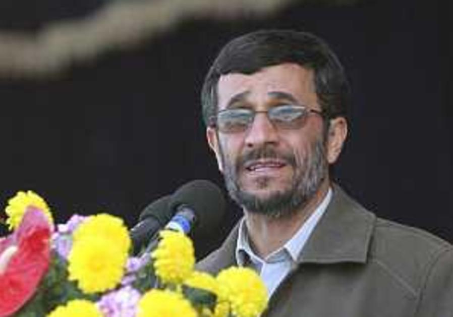 Ahmadinejad: Israel's destruction close