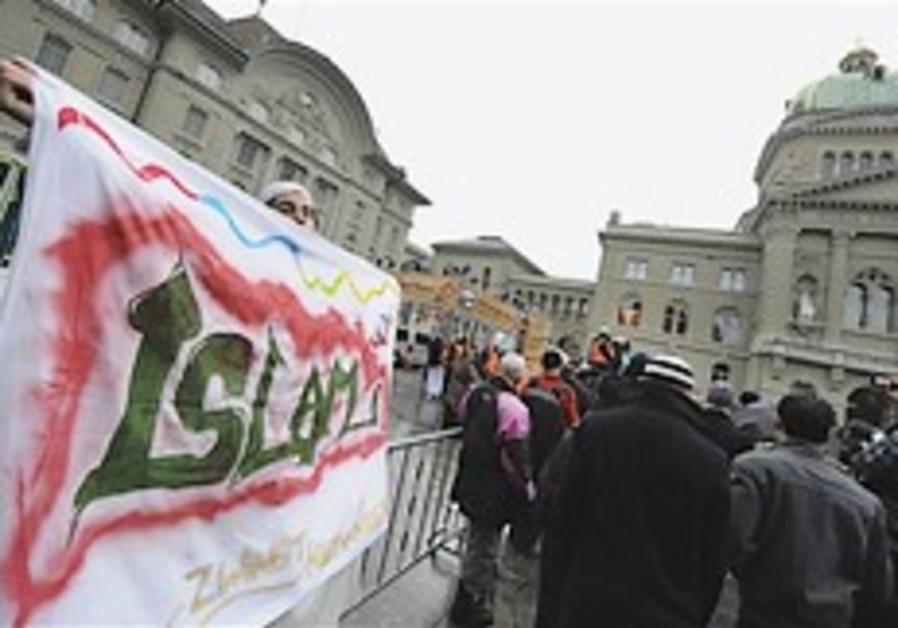 swiss minaret ban muslims protest 248 88