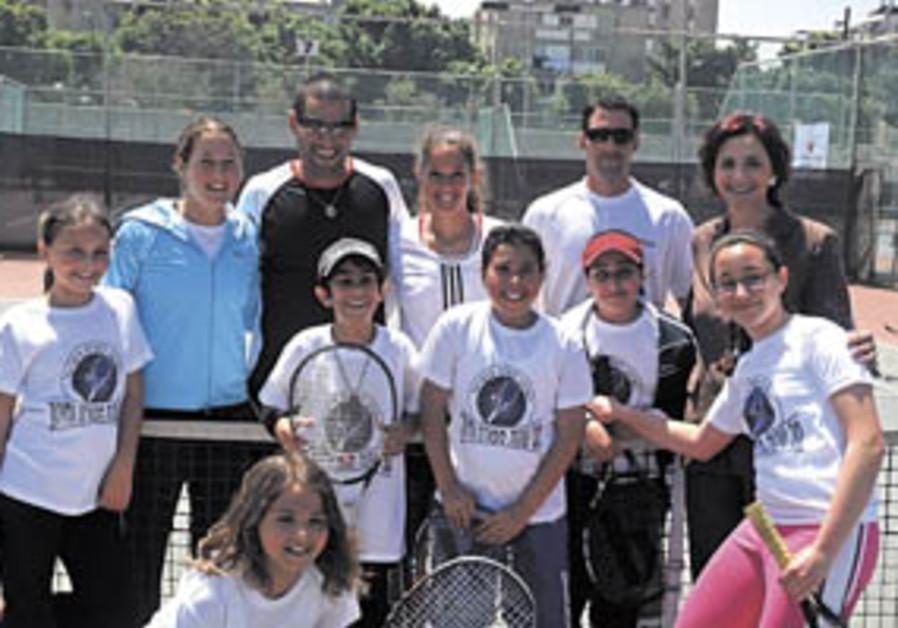 Ramat Hasharon hosts tennis festival