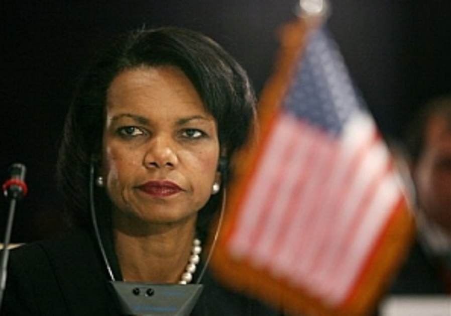 Rice holds talks with Syrian FM
