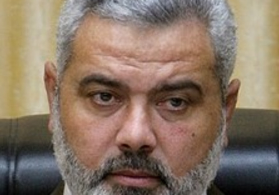 Haniyeh: 'Hamas not planning West Bank takeover'