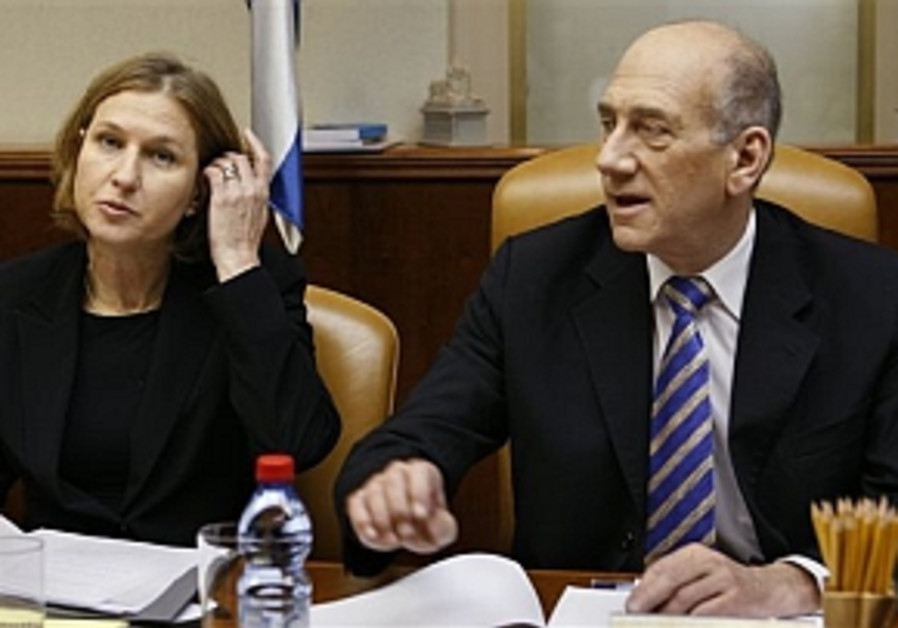 Peres, Livni warn of Islamic extremism at toast