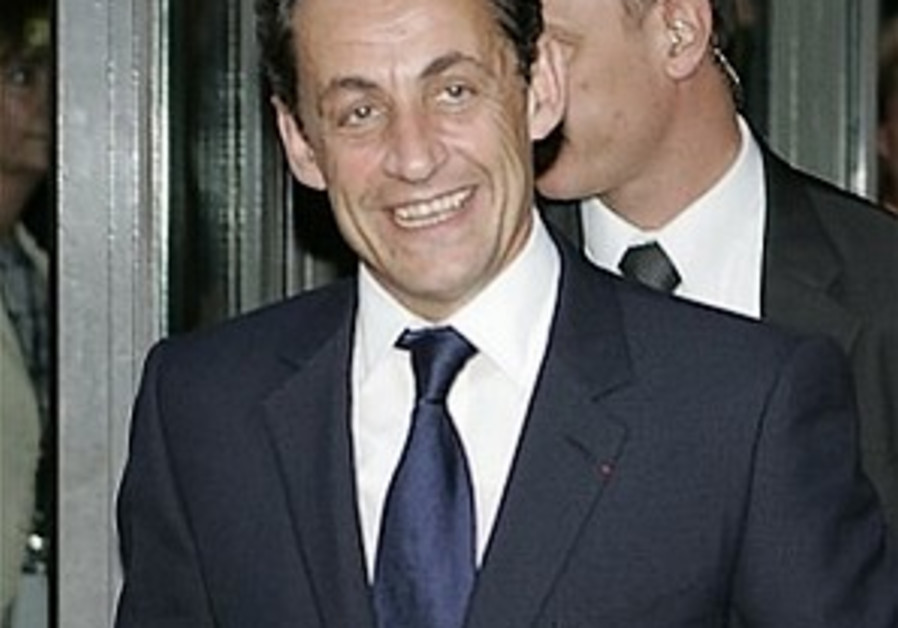 Sarkozy wins presidential elections