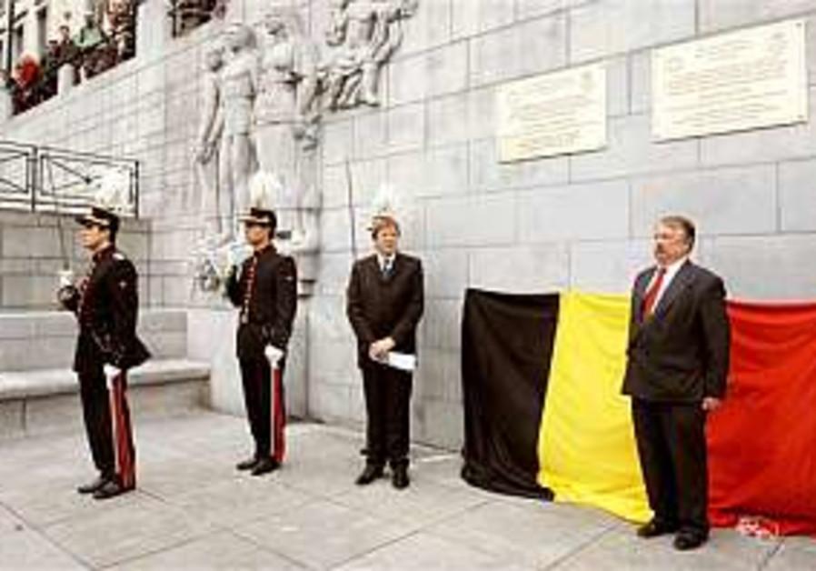 Belgium sorry for Shoah involvement