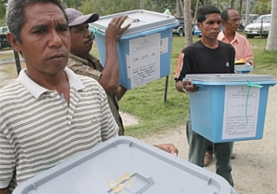 Troubled East Timor goes to the polls to elect president