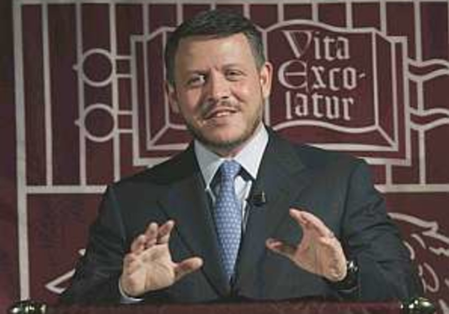 King Abdullah II warns against peace initiative delay