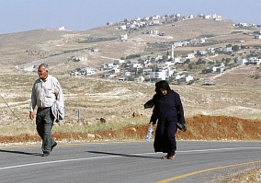 Court demands solution for W. Bank village inside J'lem