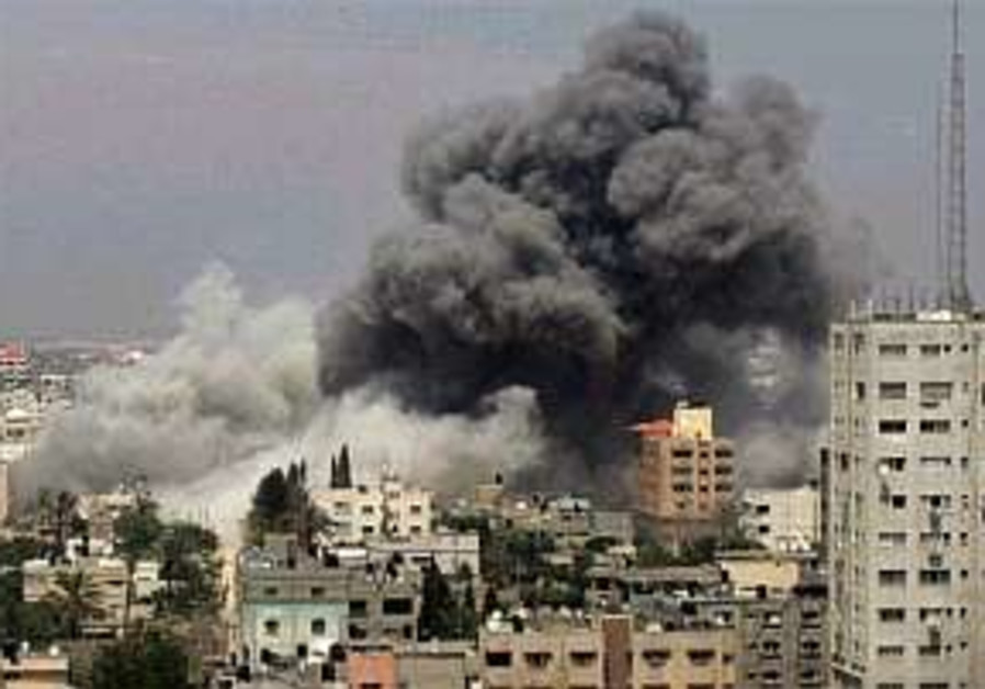 Four killed in overnight Gaza airstrikes