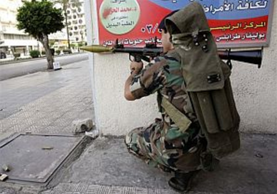 39 killed in north Lebanon gunbattle
