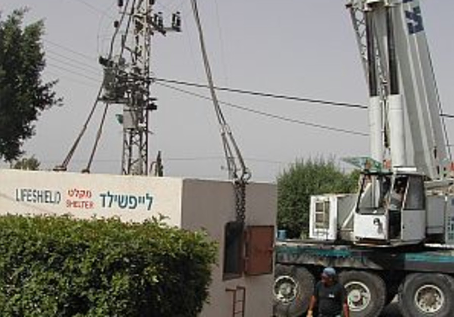 State undecided on building shelters in Sderot