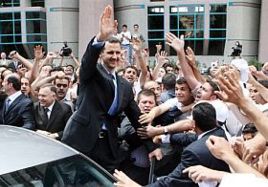 Syrians vote to endorse Assad for second term