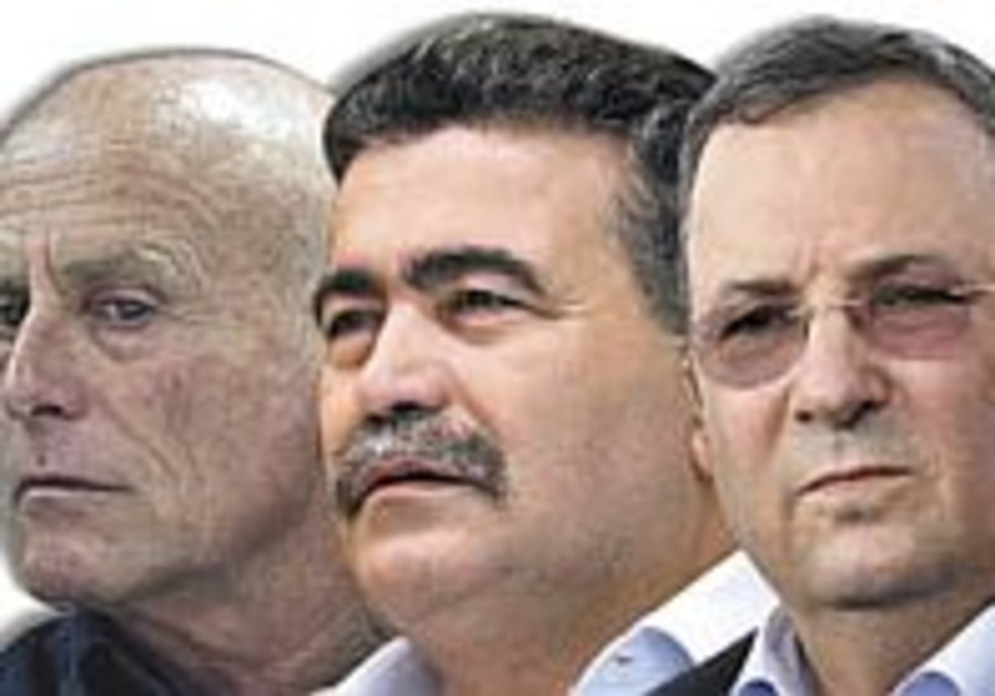 Barak, Ayalon to face off in 2nd round