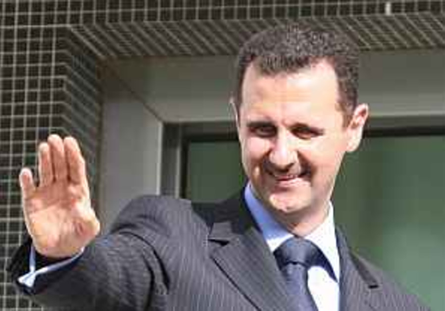 Analysis: Feelers to Assad for show only