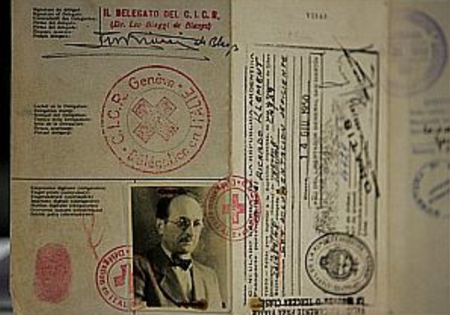 Eichmann passport found in Argentina