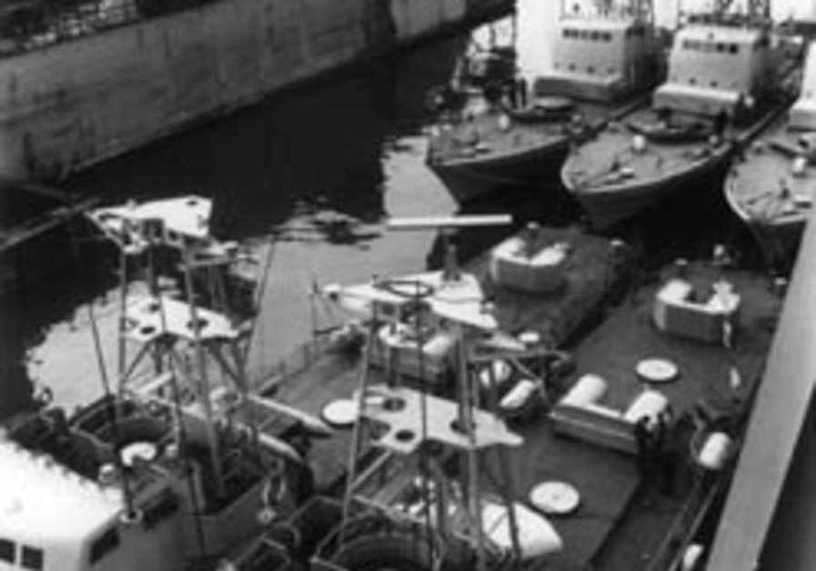 cherbourg five boats