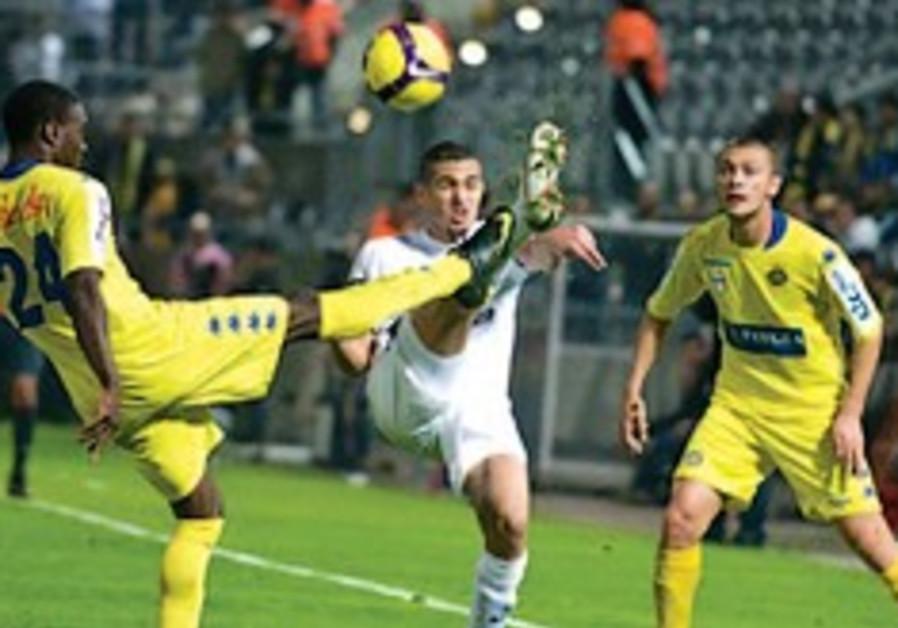 mayuka maccabi tel aviv soccer