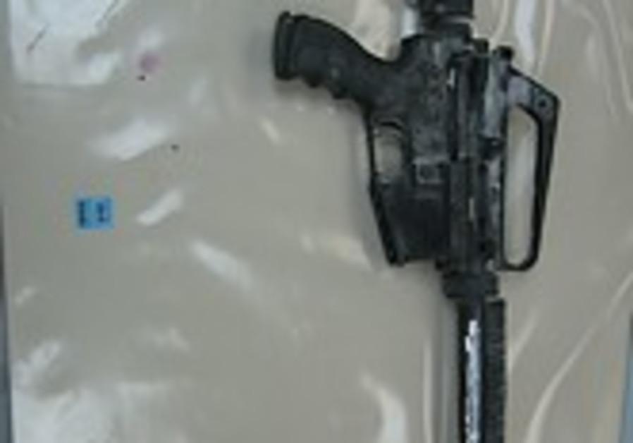 M-16 rifle rabbi meir chai 248 88