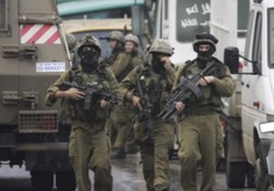 IDF soldiers in Nablus 248 88