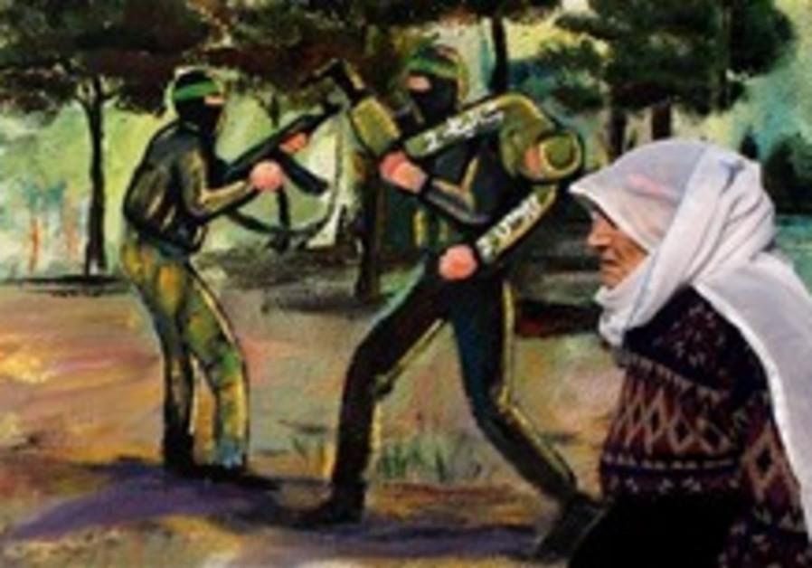 gaza woman schalit