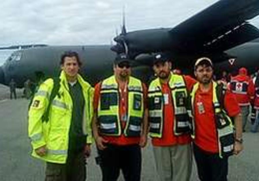 ZAKA rescue workers fly to Haiti earthquake disast