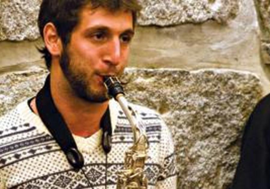 Israeli saxophonist Eyal Shmuel Hai.