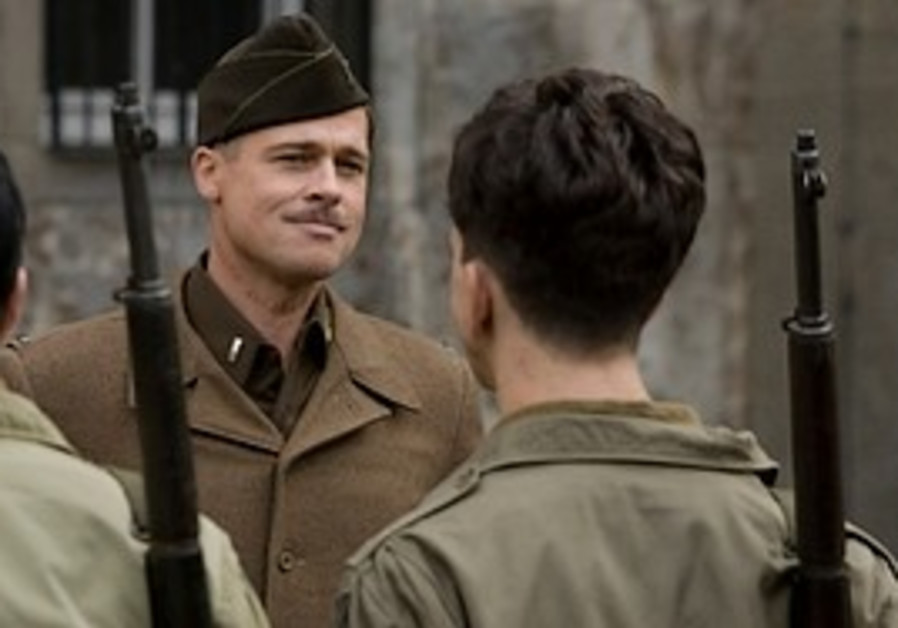 Brad Pitt in Inglorious Bastards