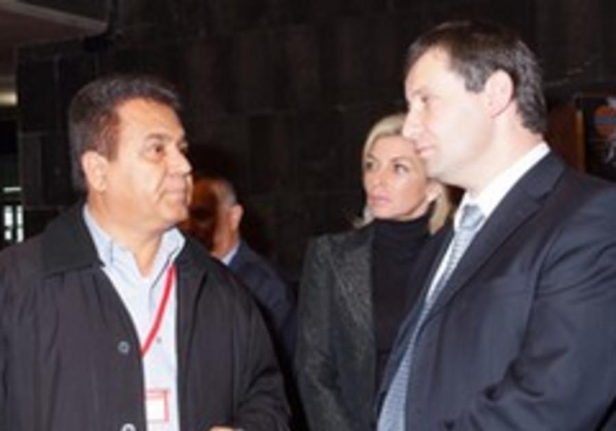 Tourism Minister Stas Misezhnikov meets with the I