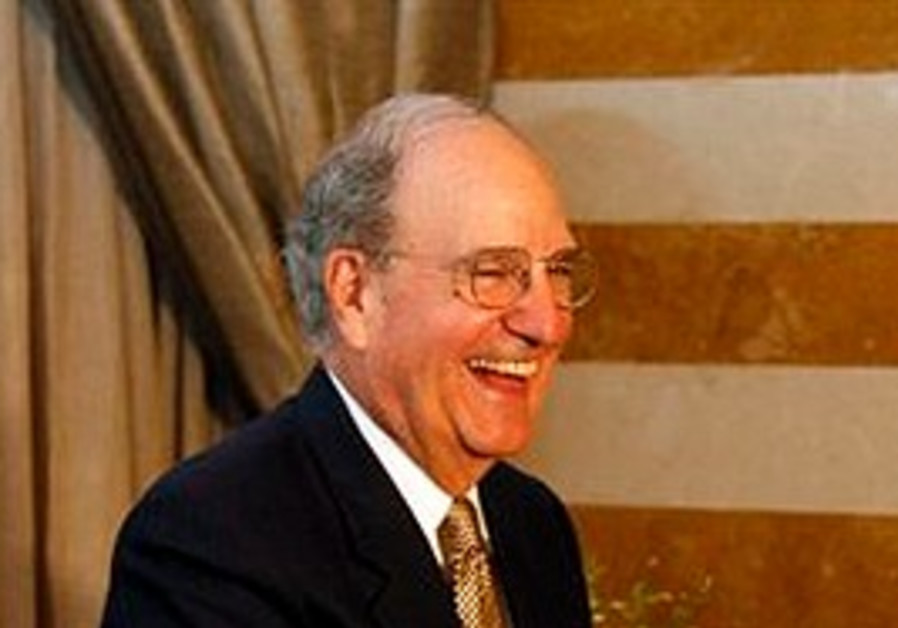 US Middle East Envoy George Mitchell.