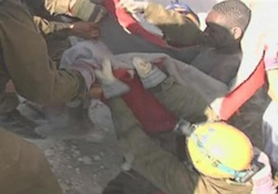 Israeli rescue team pulls 22-year-old Emmanuel Bus