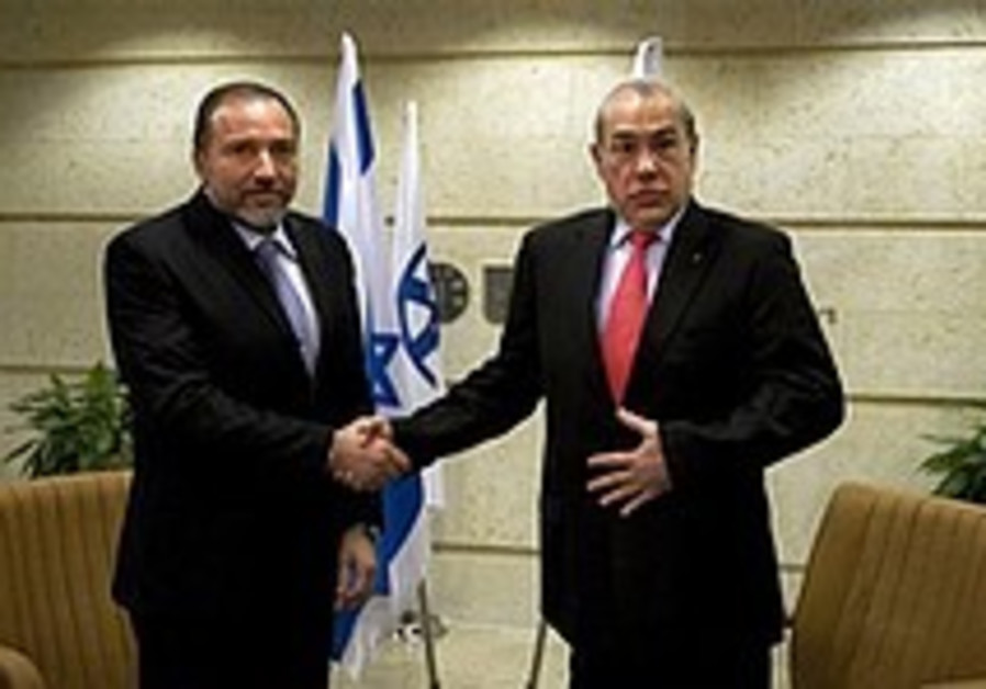 Lieberman meets Gurria in Jerusalem, Tuesday