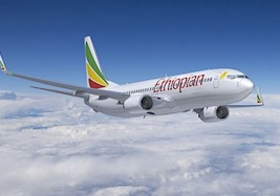 An Ethiopian Airlines 737-800 plane. [illustrative