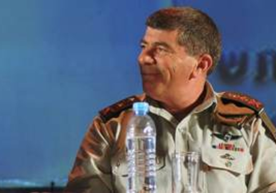 IDF Chief of General Staff Lt.-Gen. Gabi Ashkenazi