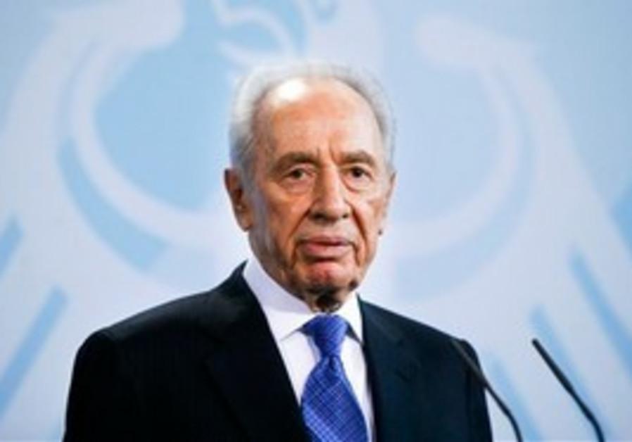 President Shimon Peres, Berlin.