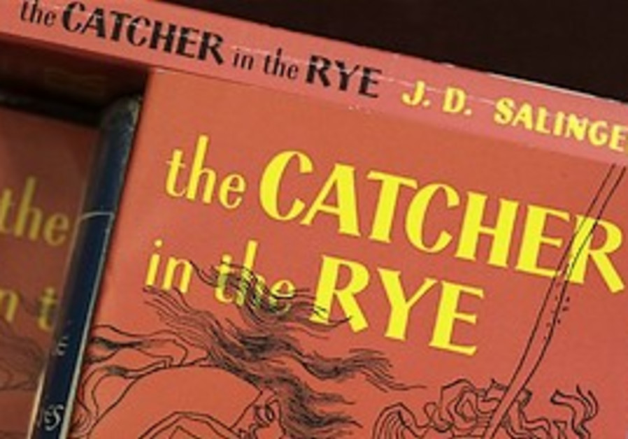 "Copies of J.D. Salinger's classic novel ""The Catch"