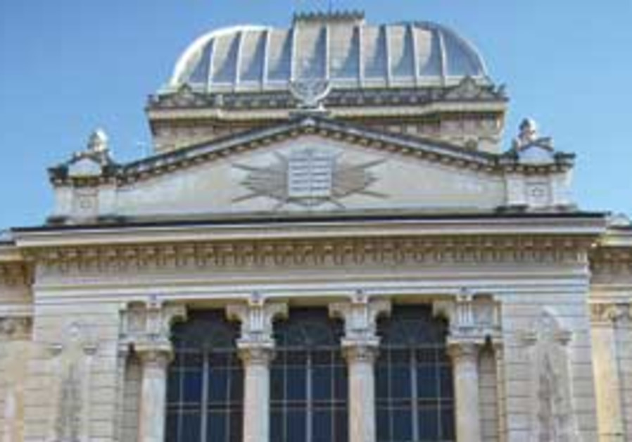 The Synagogue of Rome.